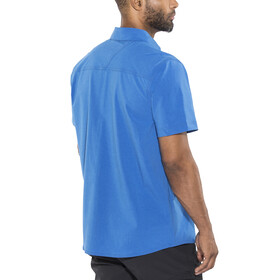Columbia Triple Canyon SS Shirt Men super blue heather